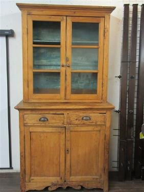 Country Pine Cupboard