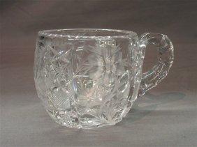 ABCG Tuthill Cut Glass Mug