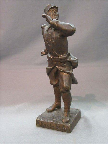 Town Crier Bronze Sculpture