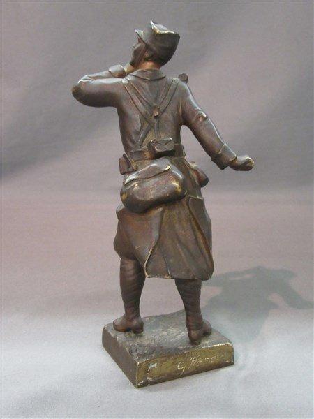 Town Crier Bronze Sculpture - 2