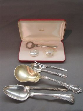 Sterling Silver Flatware Grouping