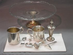 Sterling Silver Tablewares Grouping