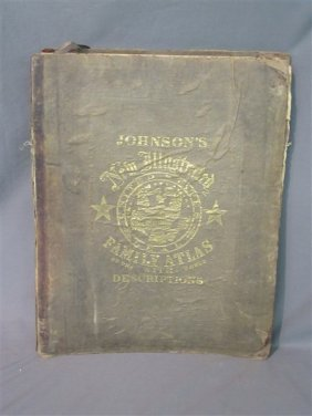 Johnsons's New Illustrated Family Atlas 1867