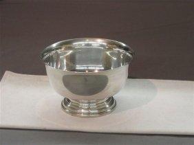 "Sterling Silver 5"" Serving Bowl"