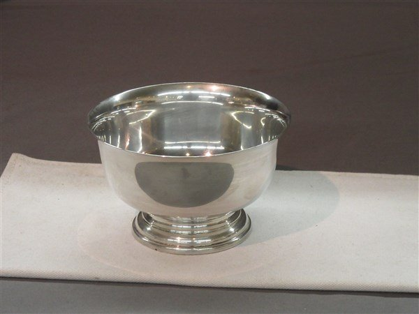 "Sterling Silver 5"" Serving Bowl"