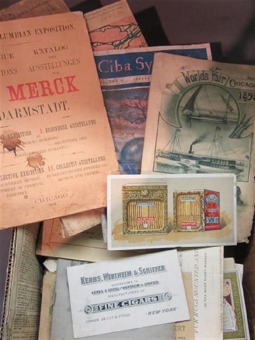 Fishing, Hunting and Columbian Expo Paper Ephemera - 4