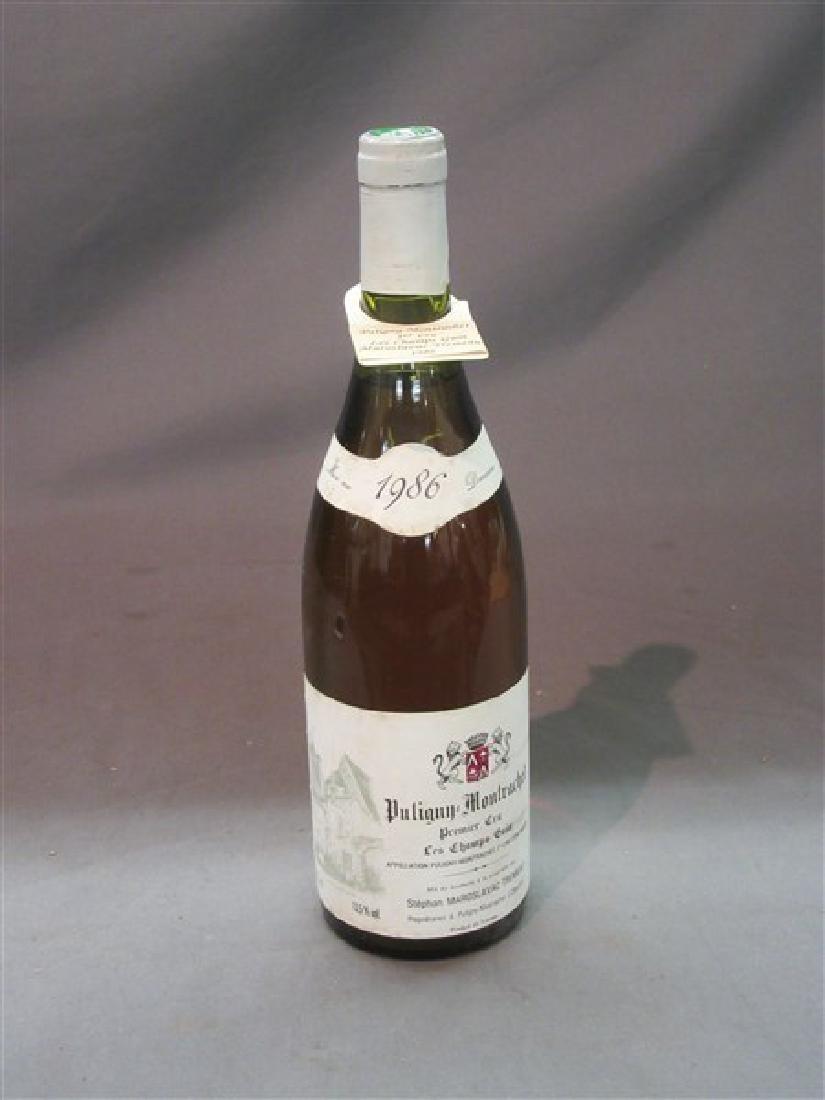 1986 Puligny Montrachet Premier Cru Les Champs Gain
