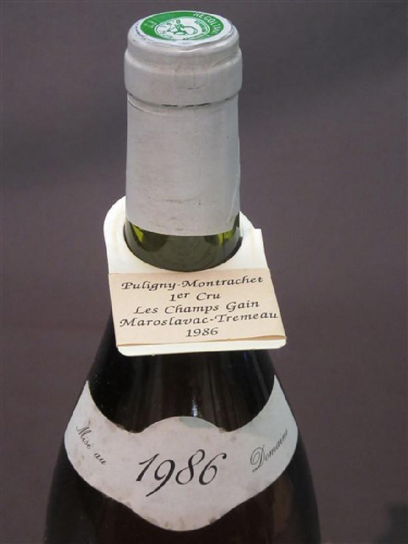 1986 Puligny Montrachet Premier Cru Les Champs Gain - 2
