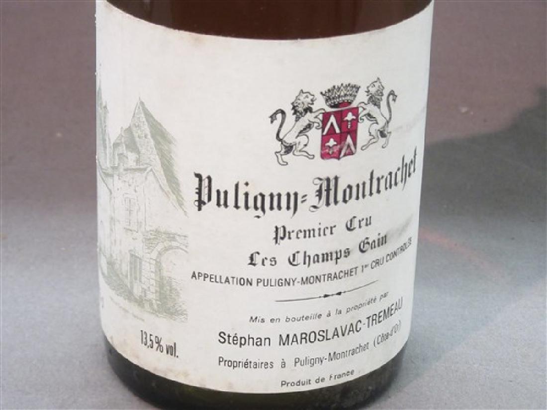 1986 Puligny Montrachet Premier Cru Les Champs Gain - 3