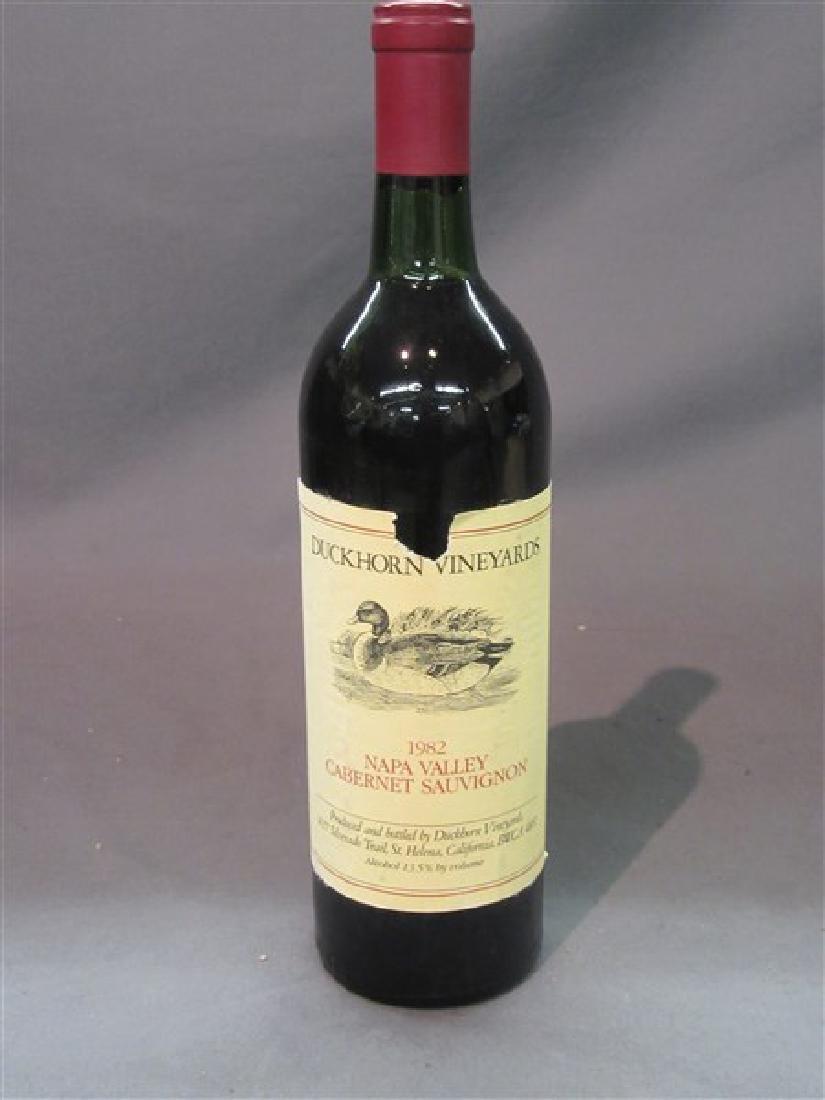 Duckhorn Vineyards 1982 Napa Valley Cabernet Sauvignon