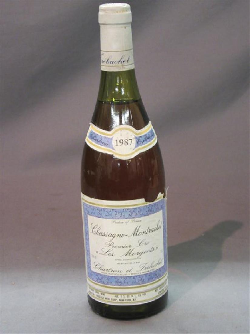1987 Chassagne Montrachet Premier Cru Le Morgeots