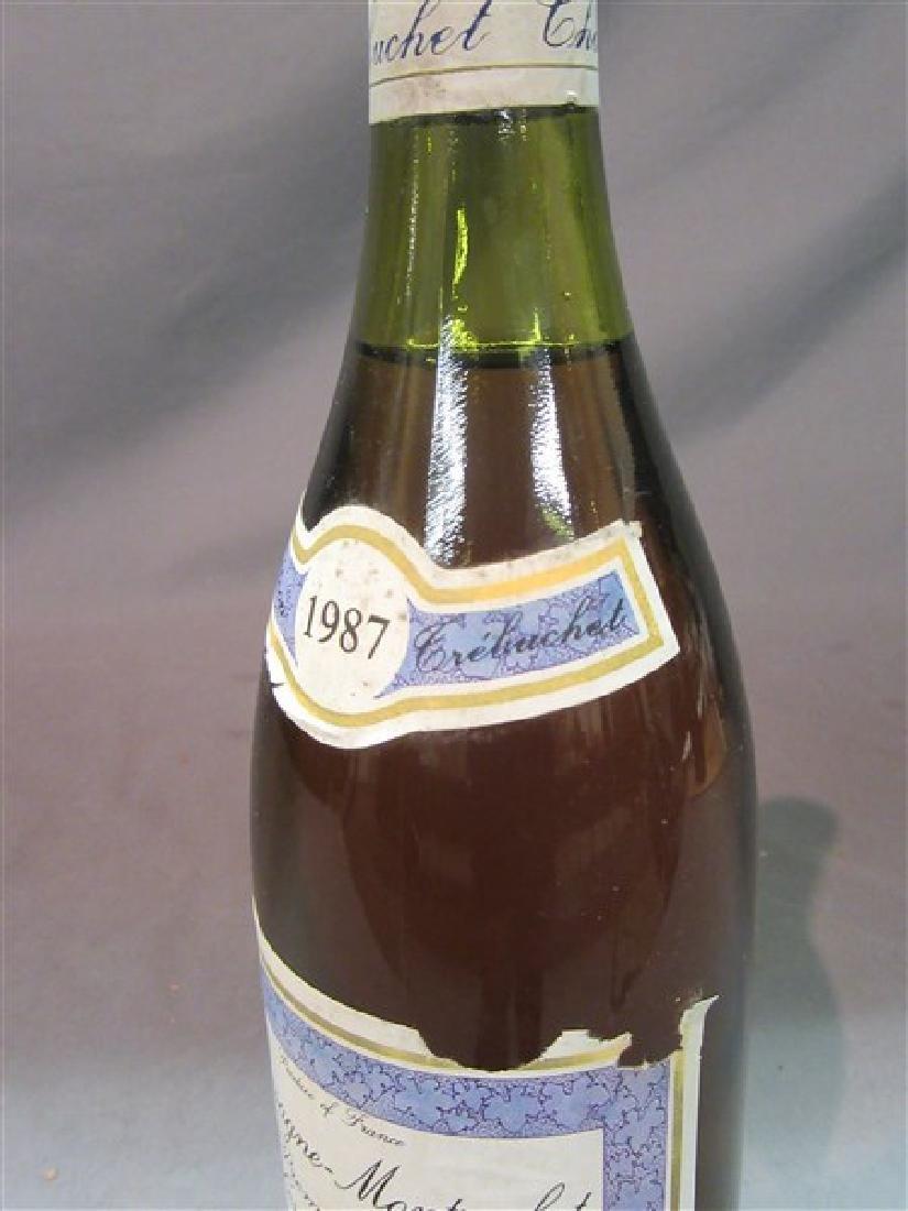 1987 Chassagne Montrachet Premier Cru Le Morgeots - 3