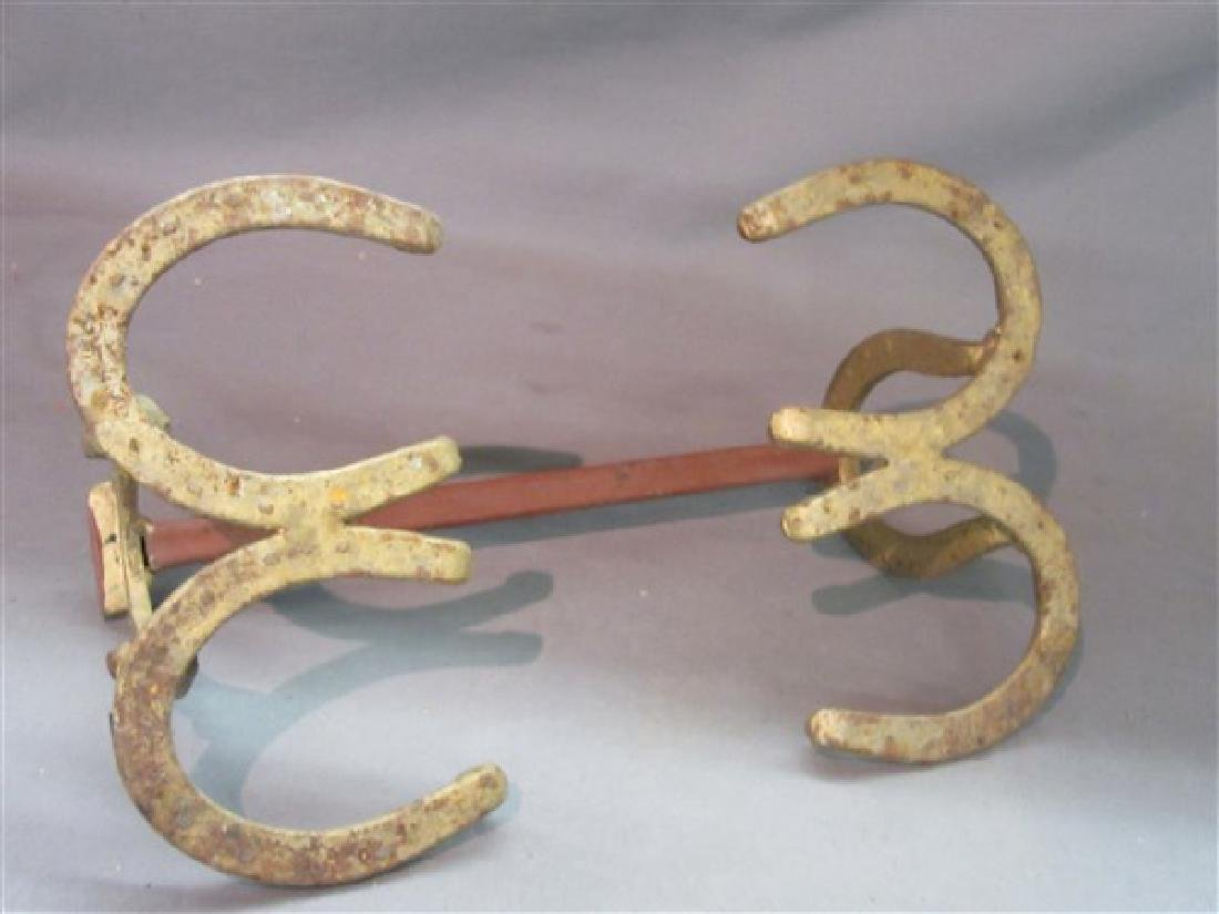Vintage Horse Shoe Western Style Boot Scrape - 3
