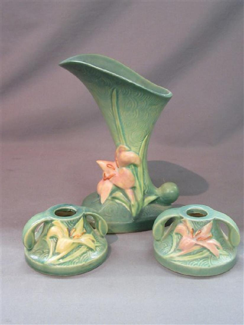 Roseville Pottery Zephyr Lilly