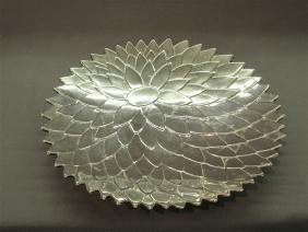 Tiffany & Co. Makers Sterling Silver Lotus Dish