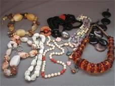 Estate Jewelry Group Gemstones etc.