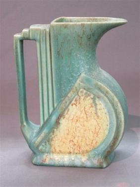 Art Deco Belgium Pottery Pitcher