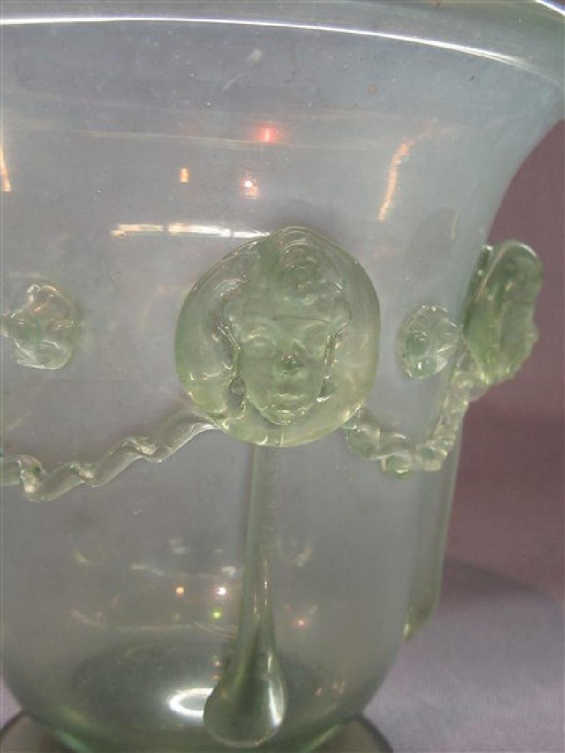 Iridescent Art Glass Vase - 3