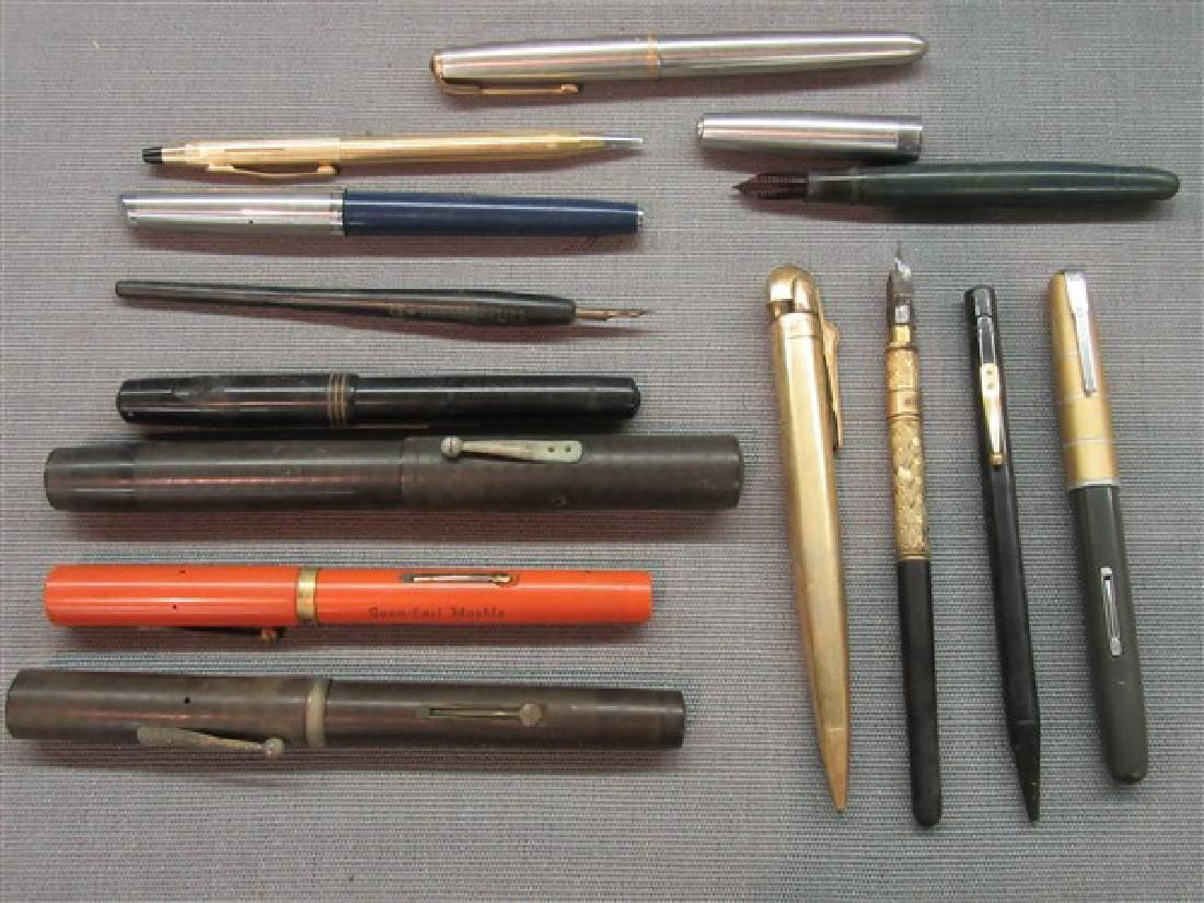 Estate Fountain Pens and Related Lot