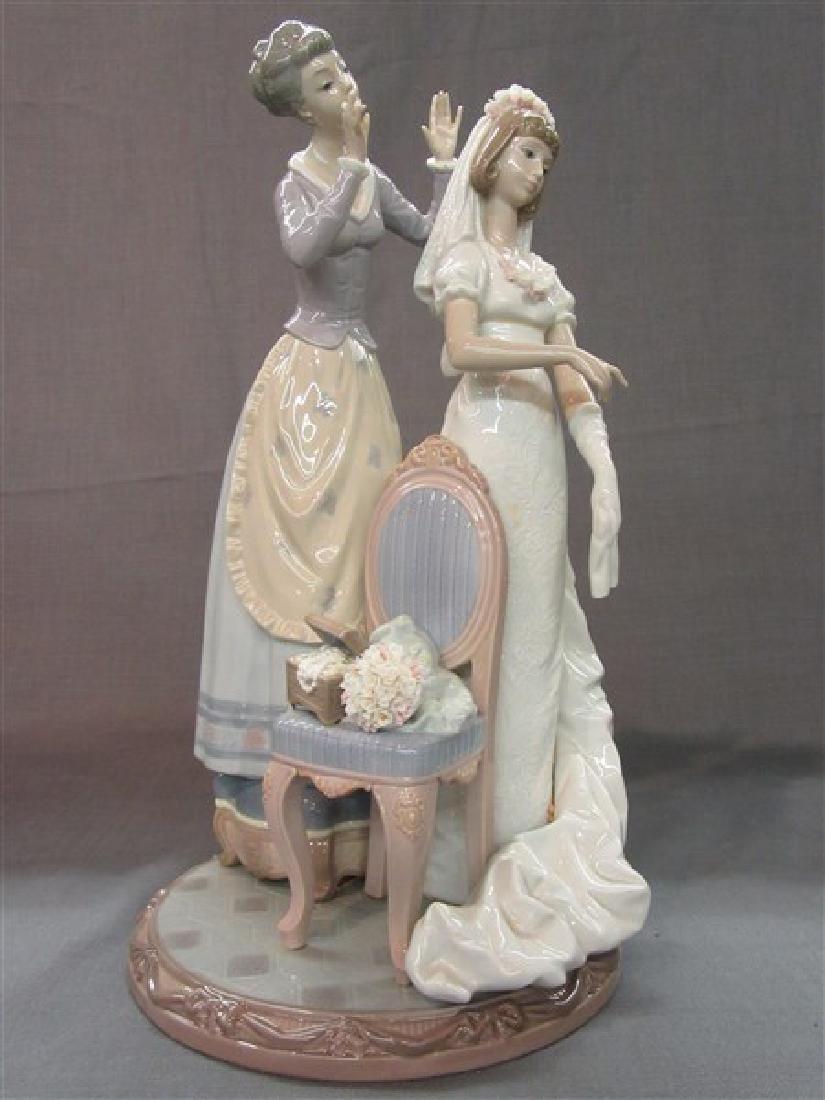 """Lladro 1494 """" My Wedding Day"""" - 4"""