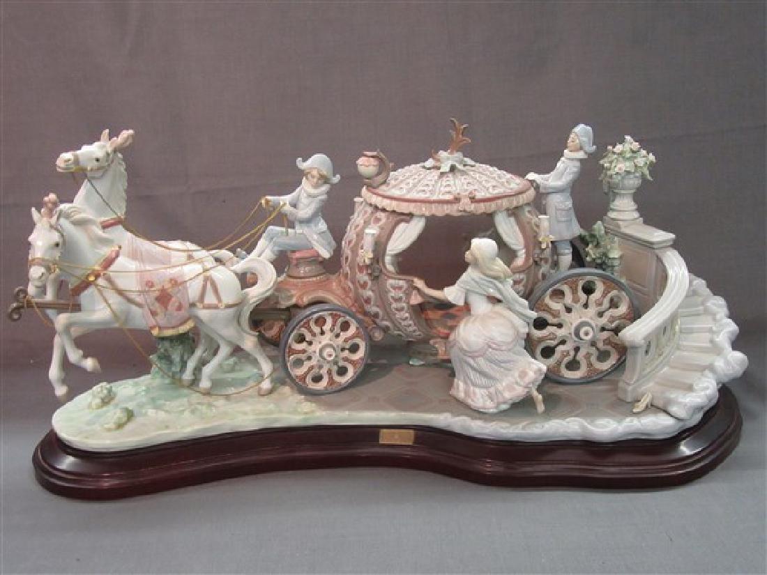 """Lladro 1463 """"Cinderella At The Stroke Of 12"""""""