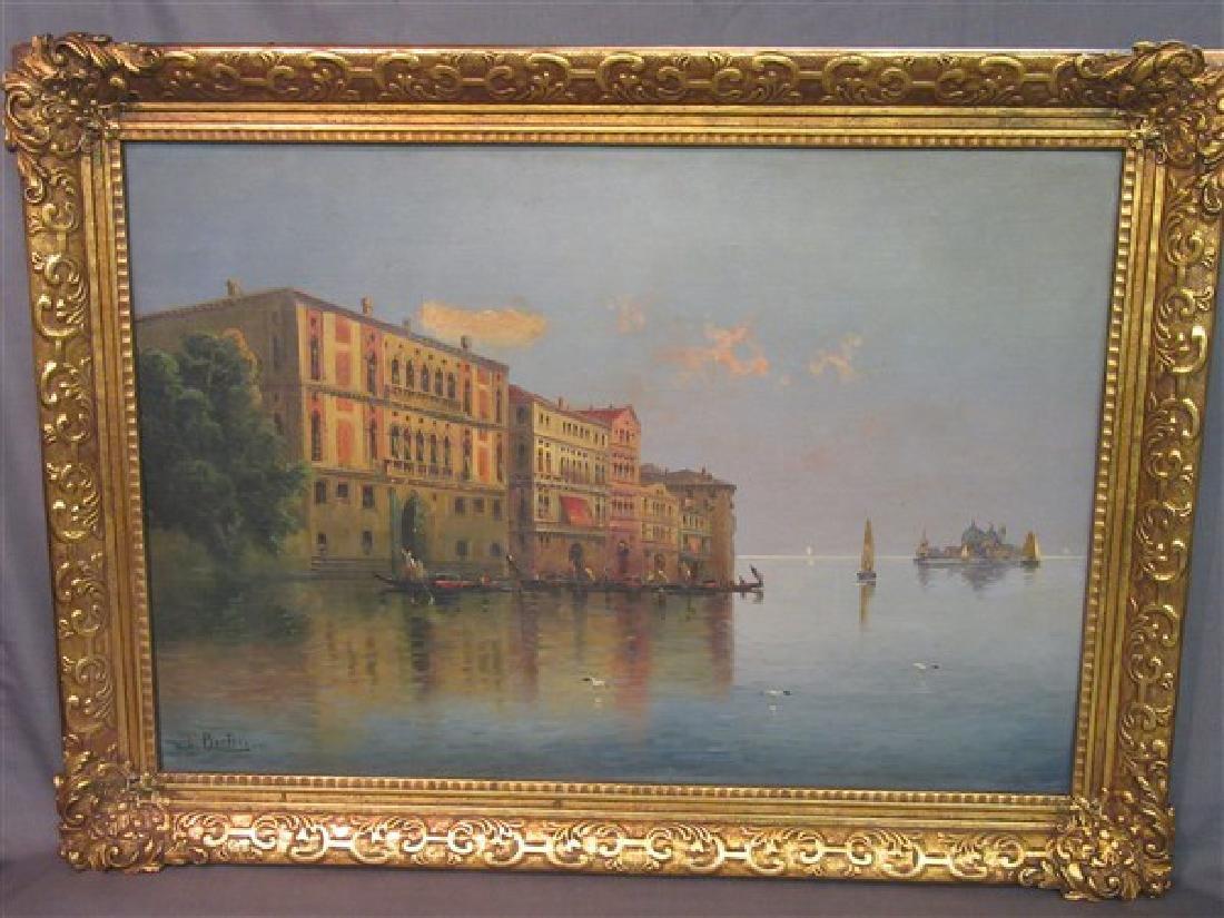 Karl Kauffman (1843-1905) Grand Canal, Venice