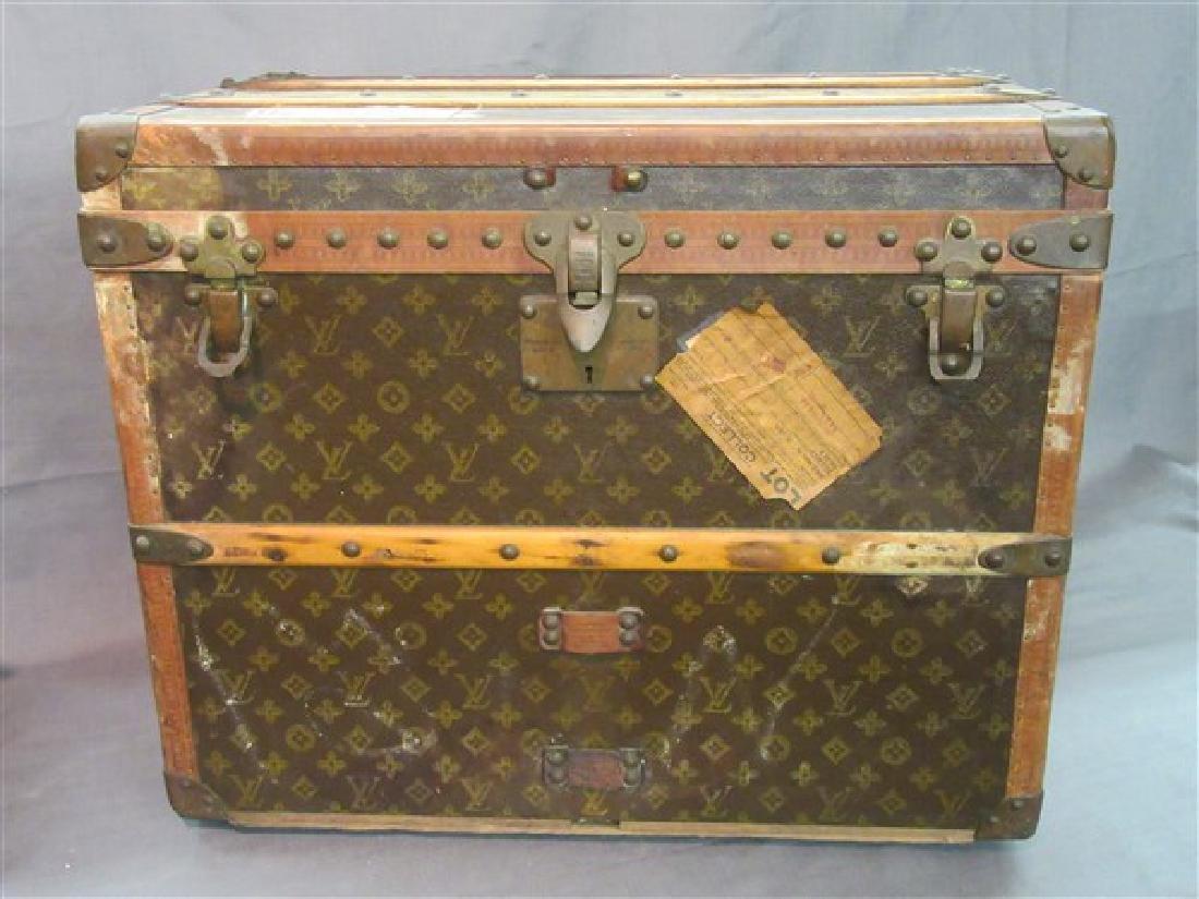 c.1930 Louis Vuitton Courier Trunk