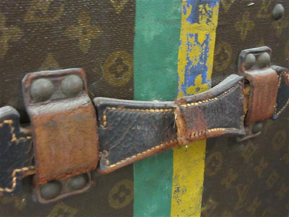 c.1930 Louis Vuitton Courier Trunk - 5