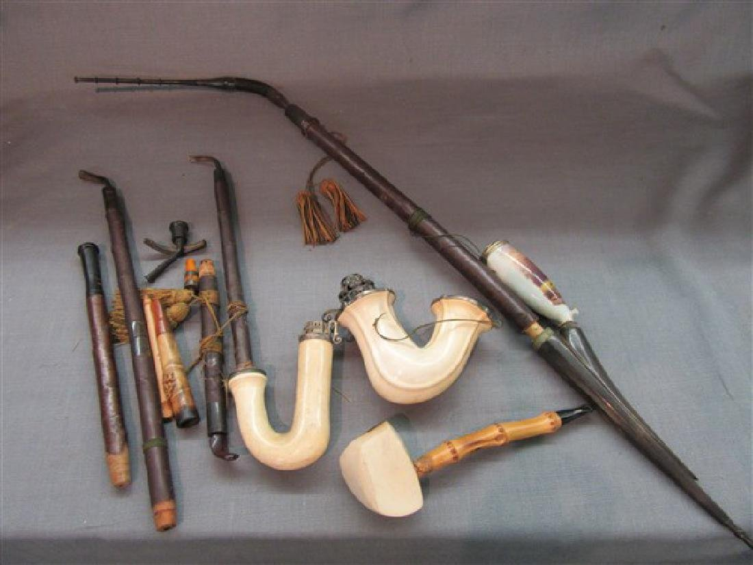 Compiled Grouping Meerschaum Pipes and Parts