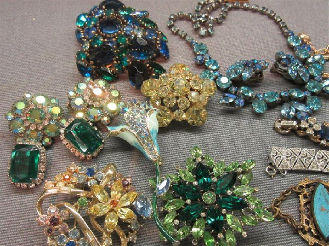 Estate Vintage Costume Jewelry Tray Lot - 2