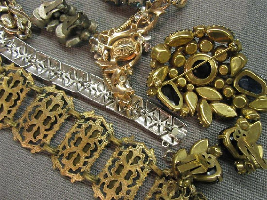 Estate Vintage Costume Jewelry Tray Lot - 5