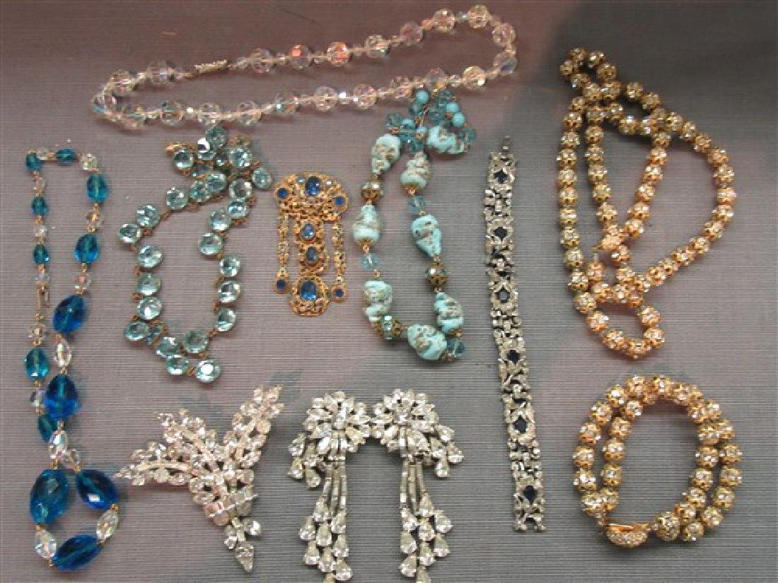 Estate Vintage  Costume Jewelry Lot