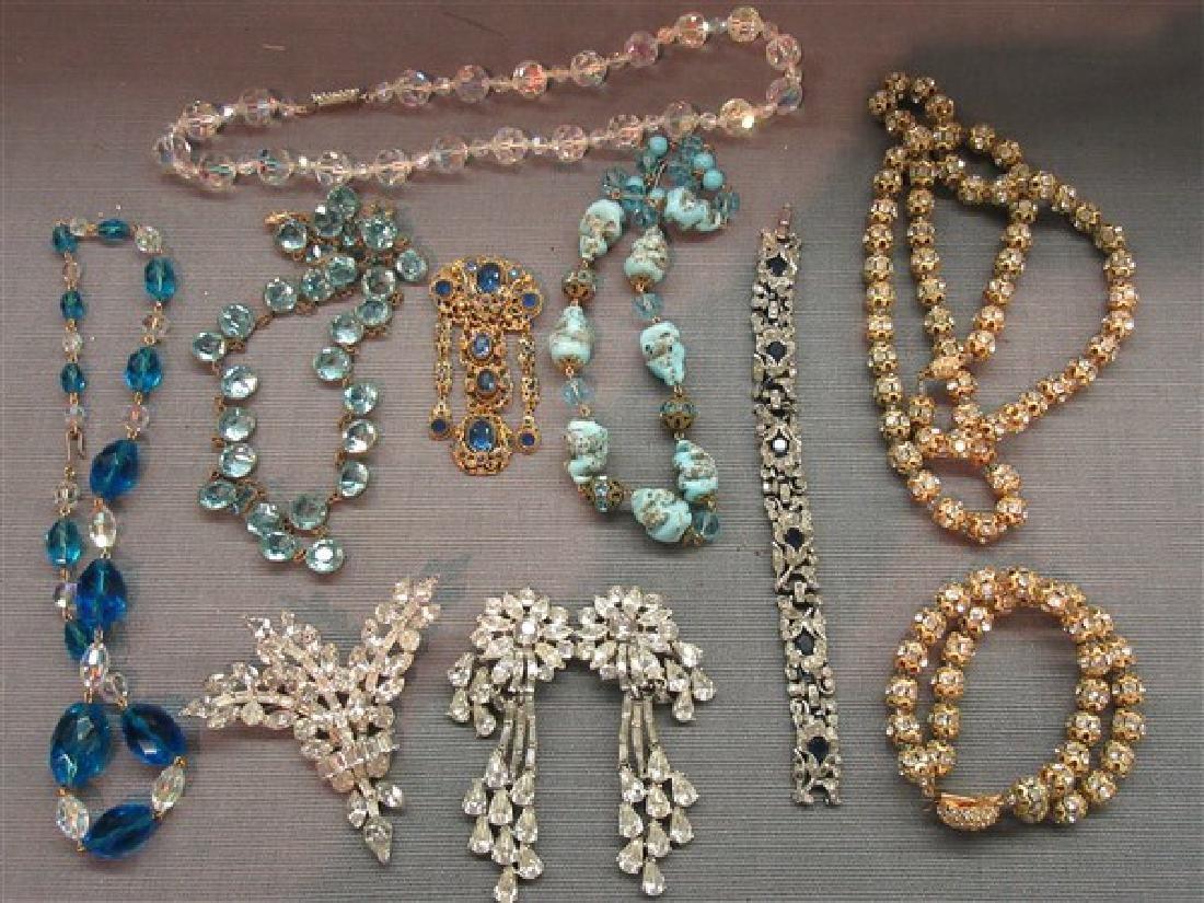 Estate Vintage  Costume Jewelry Lot - 2
