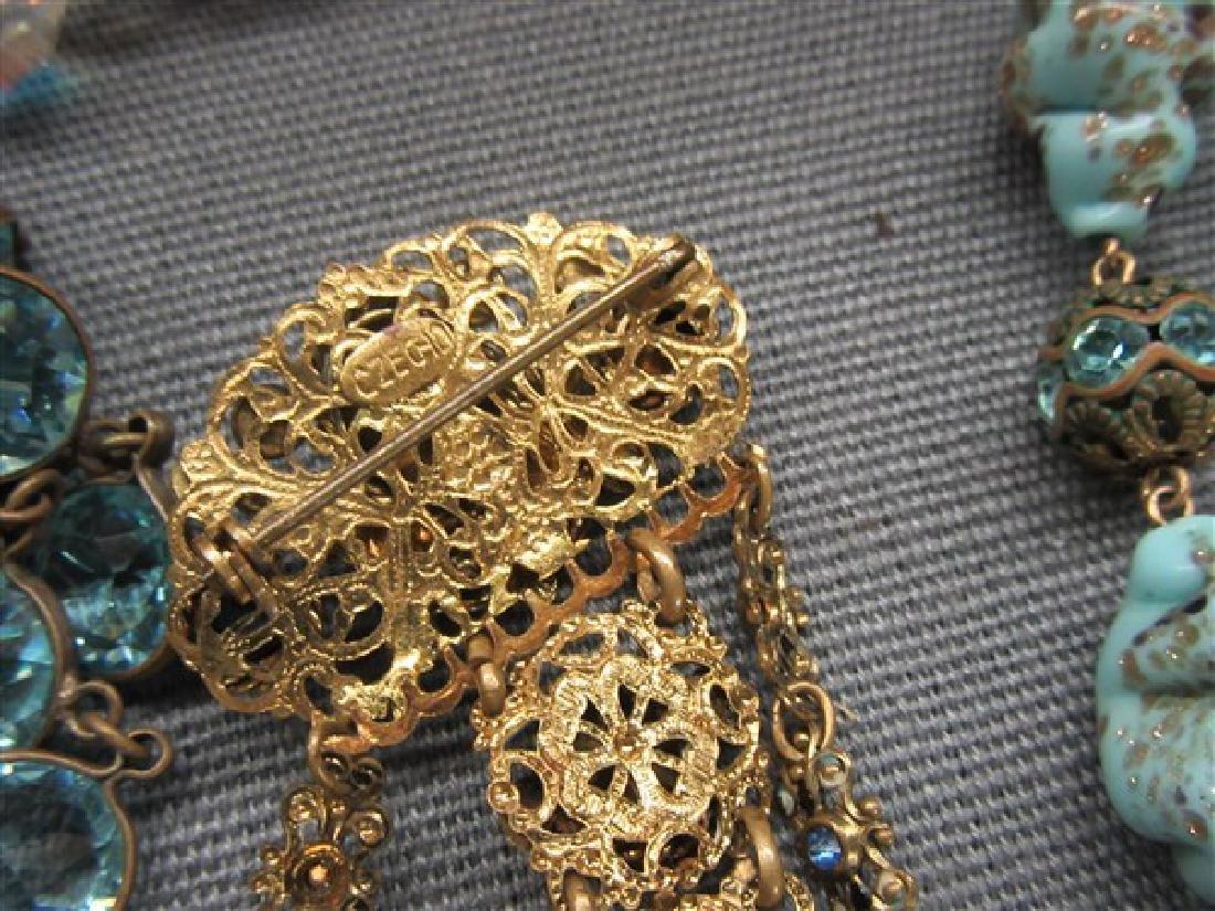 Estate Vintage  Costume Jewelry Lot - 5