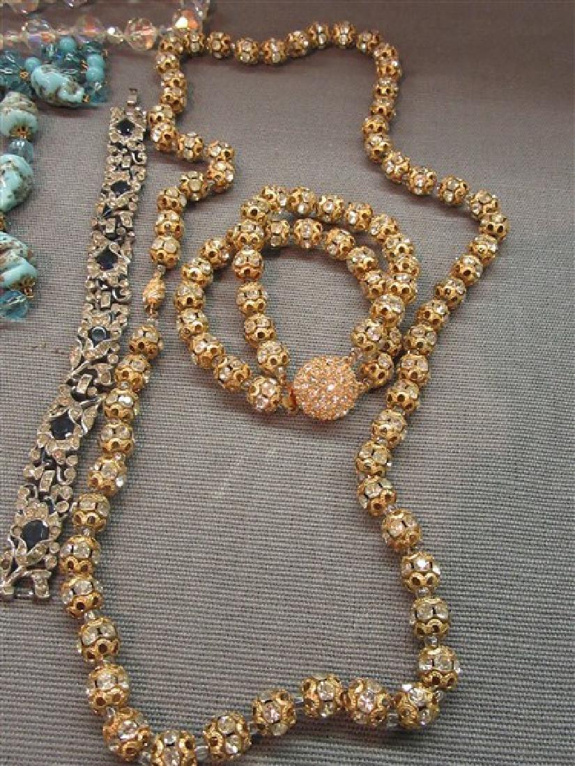 Estate Vintage  Costume Jewelry Lot - 6