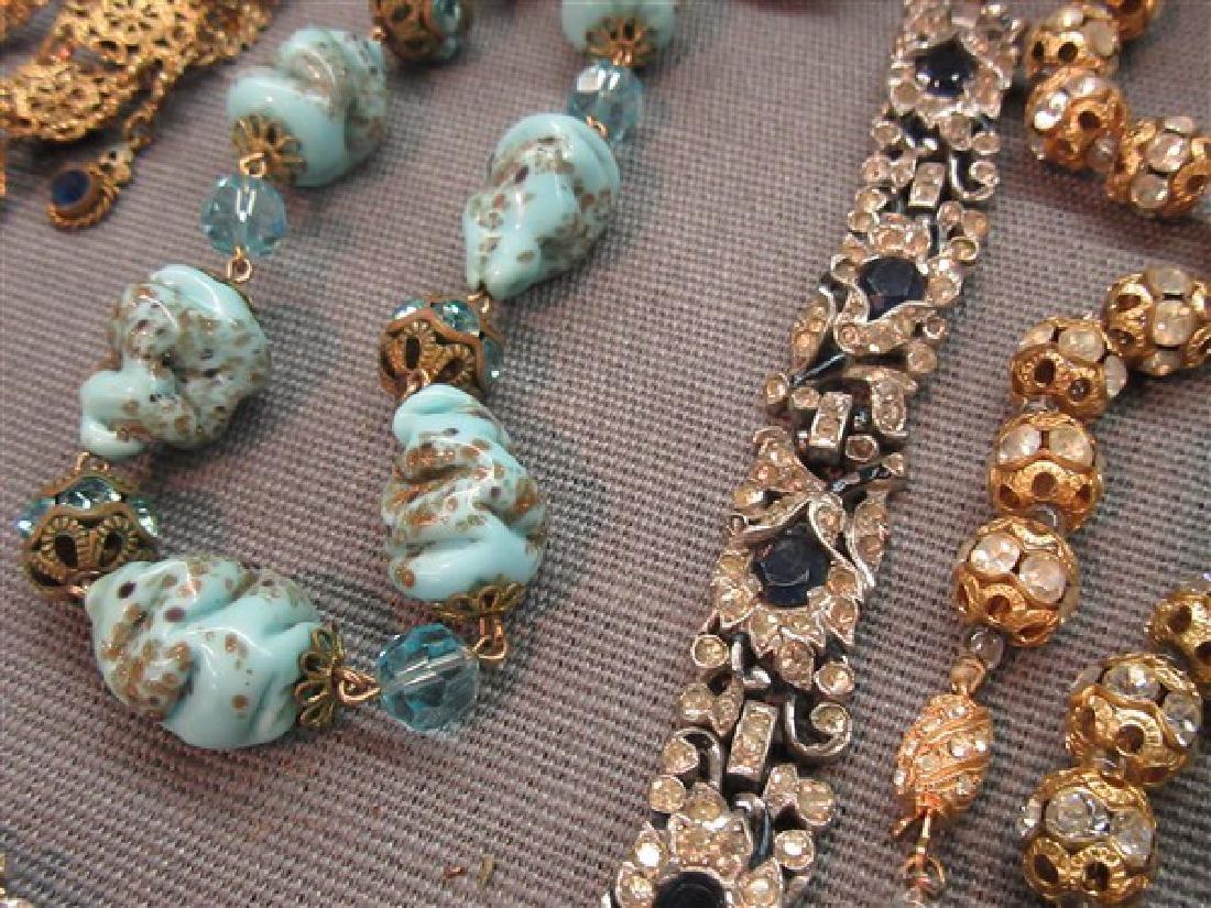 Estate Vintage  Costume Jewelry Lot - 7