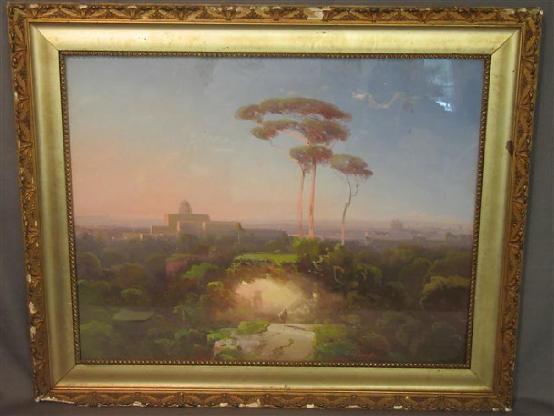 Conrad Schreiber (1816-1894) Italian Landscape