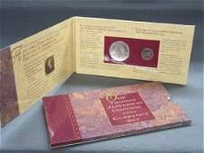 Thomas Jefferson 250th Anniversary Silver Coin Set