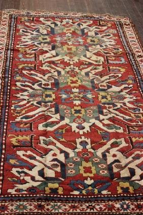 Eagle Kazak Throw Rug