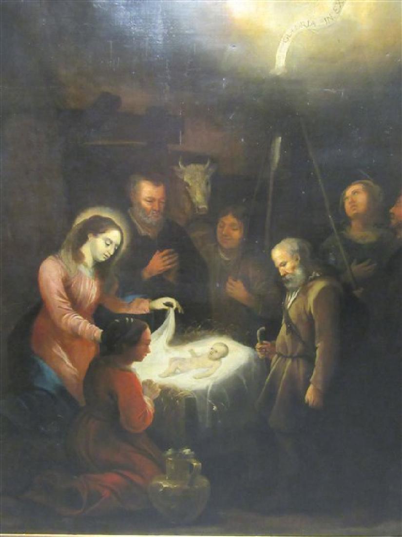 Manner of Bartolome Esteban Murillo, Religous Nativity