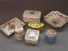 Seven (7) Pieces French Porcelain