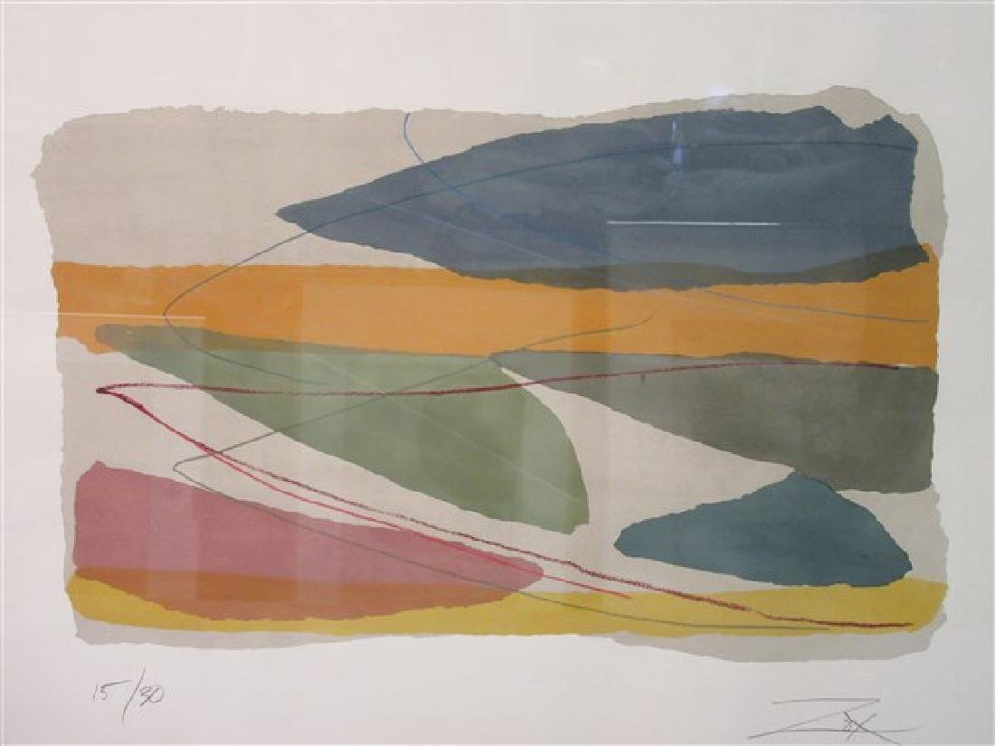 Larry Zox (American, b.1936, d. 2006) Serigraph