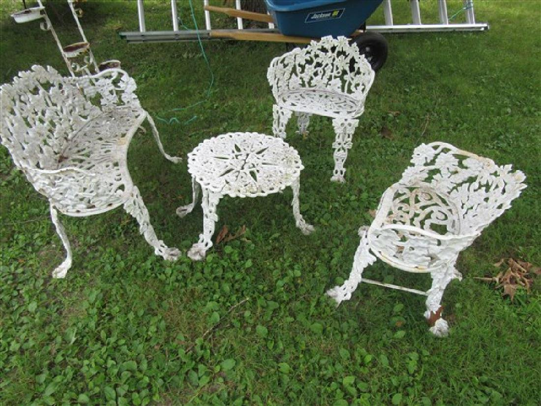 Victorian Cast Iron Garden Furniture Aug 21 2017 Flannery S Estate Services In Ny