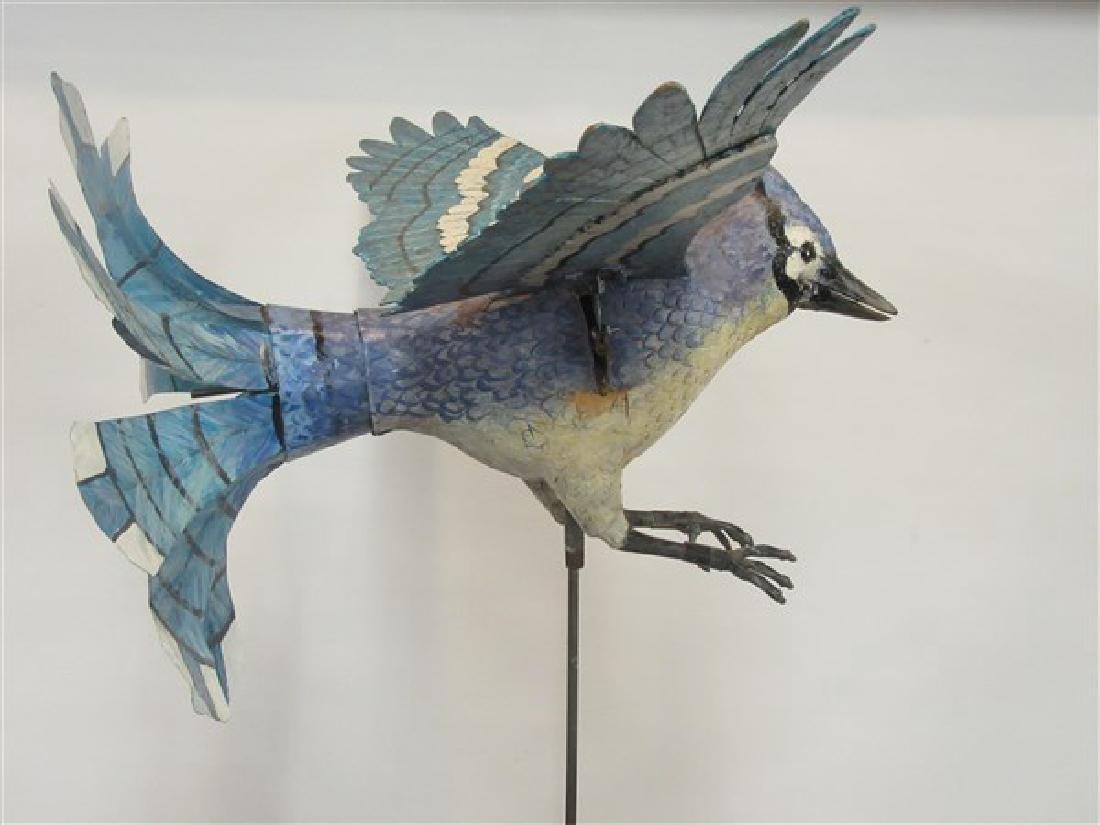 Ralph Boutilier, Folk Art Blue Bird Whirligig