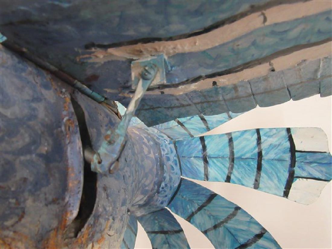 Ralph Boutilier, Folk Art Blue Bird Whirligig - 5