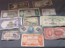 Mixed Circulated Foreign Paper Currency