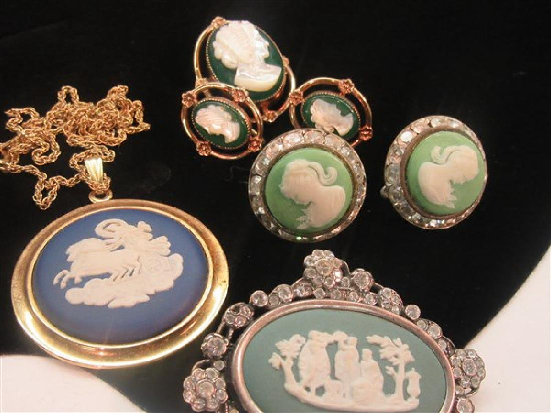 Costume Cameo Jewelry Group - 2