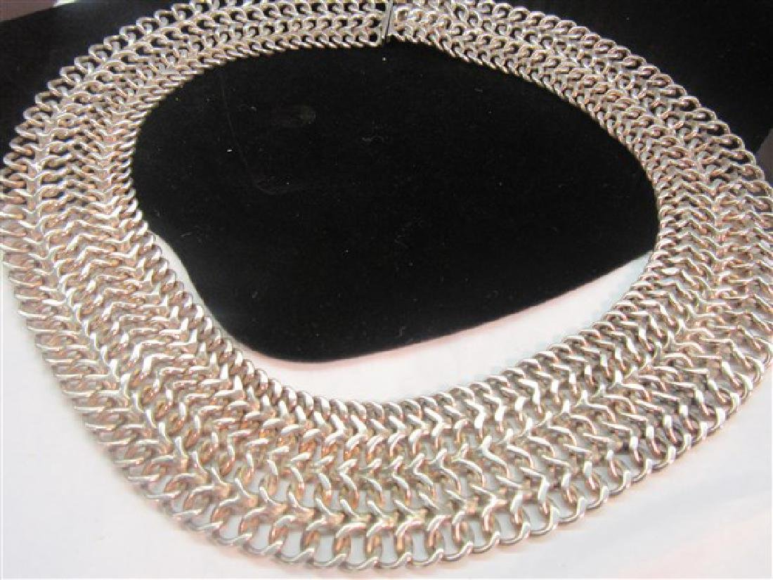 Mexican 925 Silver Choker Necklace