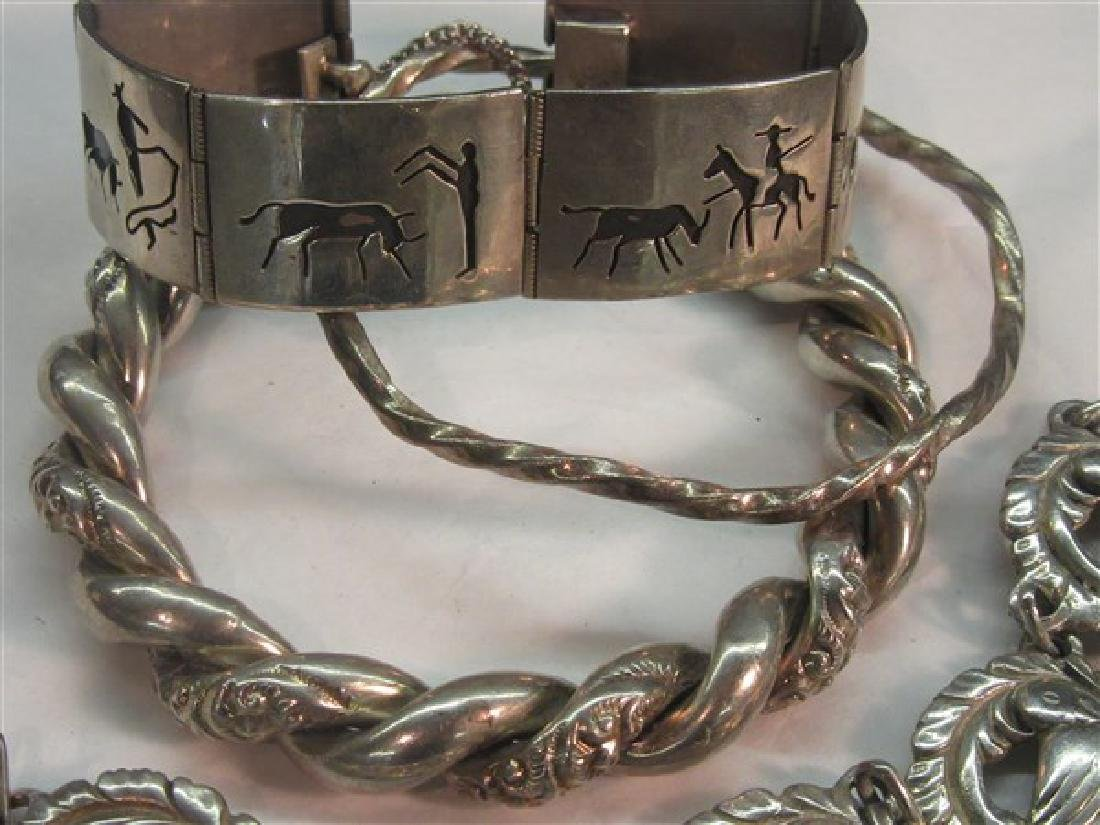 Sterling Silver Bracelet Grouping - 2