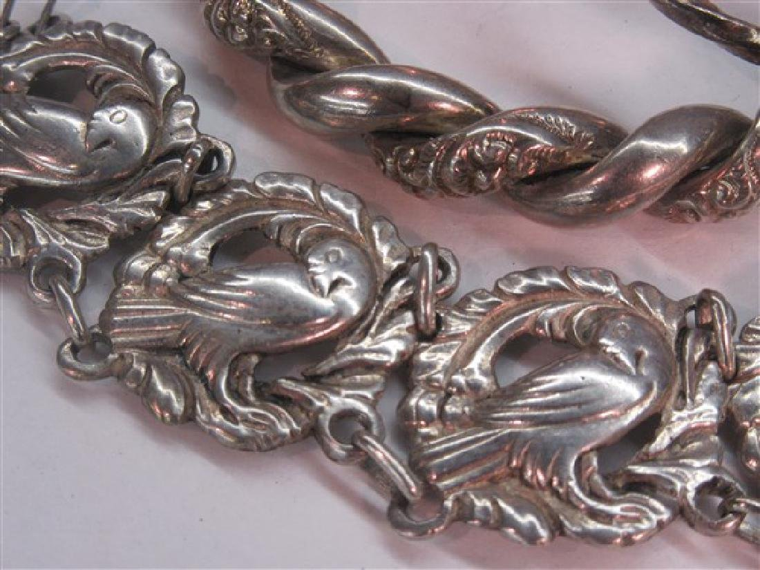 Sterling Silver Bracelet Grouping - 3